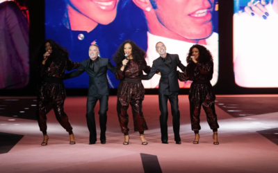 Sister Sledge Celebrates DSquared2's 25 years of Fashion in Milan!